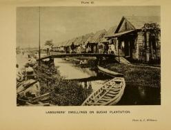 Handbook of BG 1909 labs dwellings on sugar estate