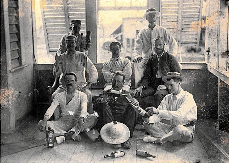 ILL25 Overseers, Guiana, 1897